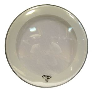 RMV FX Double Ply Clear Drumhead for Bass Drum