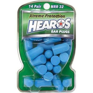 Hearos Ear Plugs Xtreme Protection Series 14 pair